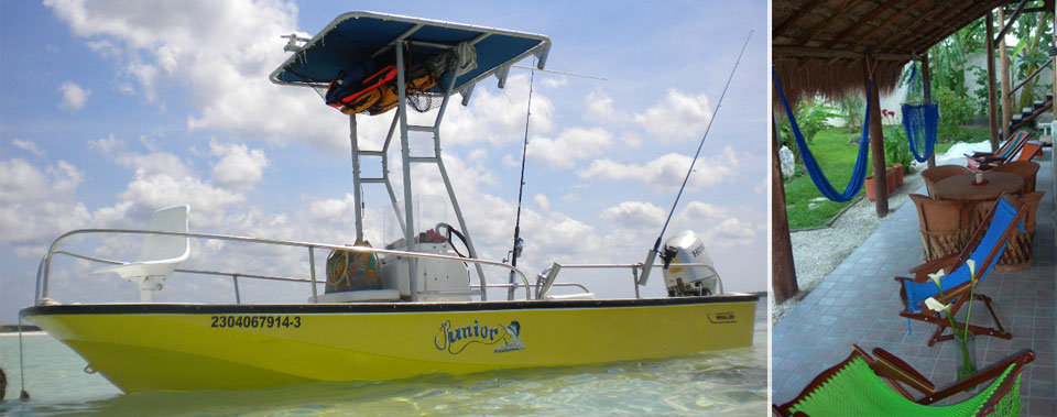 Let's go fishing! Ask us about our fishing trips! exclusively for guests.